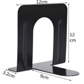 4 Pcs/Set Book Stand Book Baffle Clip Book Holder Storage Support Metal Bookends Office Supply Bookends Students Stationery недорого