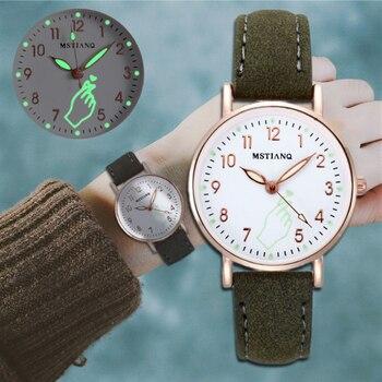 цена Women Watch Luxury Fashion Style Design exquisite Leather Band Analog Quartz  Women Wristwatches Ladies Dress Clock reloj mujer онлайн в 2017 году