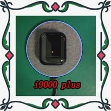 Original i9000 plus tws glossy black wireless bluetooth earphone smart sensor with QI wireless charging PKi500  i9000 i10000 tws
