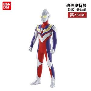 Bandai Ultraman мягкая Статуэтка Silcone Act Leo Siro Tiga Beria Aix-En-Статуэтка