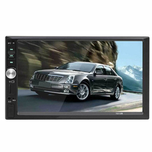 7 2-DIN Car MP5 Player Bluetooth Touch Screen Stereo Radio Audio With Camera 1080P Movie Support wireless BT connection