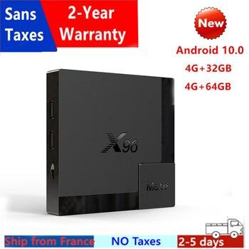 New X96Mate 4GB 64GB Android 10.0 TV Box Allwinner H616 Quad Core X96Mate 4G 32G Media Player Smart Ip tv Set Top Box