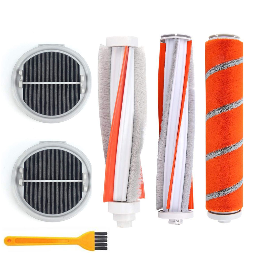 ROIDMI F8 F8E Roller Brush Soft Carbon Fiber Brush Mites Brush HEPA Filter For XIAOMI ROIDMI F8 NEX Parts Manual Vacuum Cleaner