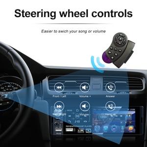 "Image 3 - Podofo 4.1"" Touch Bluetooth Car Radio 1 Din Autoradio Stereo Audio MP5 Video Player USB MP3 TF ISO In dash Multimedia Player"