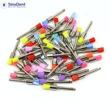 Brushes Polisher Dental-Polishing-Brushes Teeth Whitening Dentistry 100pcs Latch-Type