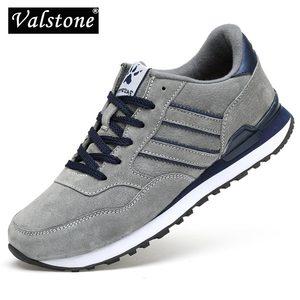 Image 1 - Valstone גברים אביב אמיתי עור סניקרס 2020 עמיד למים מוקסין מאמני נגד החלקה נעלי Zapatillas דה דפורטה נוח