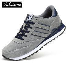 Valstone baskets de printemps en cuir véritable pour hommes, mocassin imperméable, chaussures antidérapantes, confortables, 2020