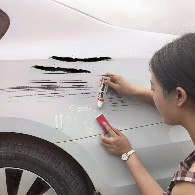 Car Scratch Paint Care Body Polishing Scratching Paste Repair Agent Car Maintenance Auto Supply Car Body Compound Accessories