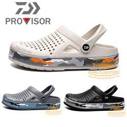2020 DAWA buty rybackie plażowe sandały kamuflaż buty outdoorowe lekkie otwarte pantofle Daiwa mężczyźni lato miękka woda buty
