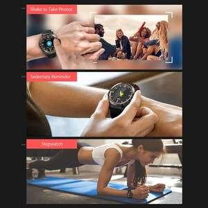 Image 3 - BlitzWolf BW AT1 reloj inteligente Dymanic con pantalla táctil, control del ritmo cardíaco, la presión sanguínea y el oxígeno