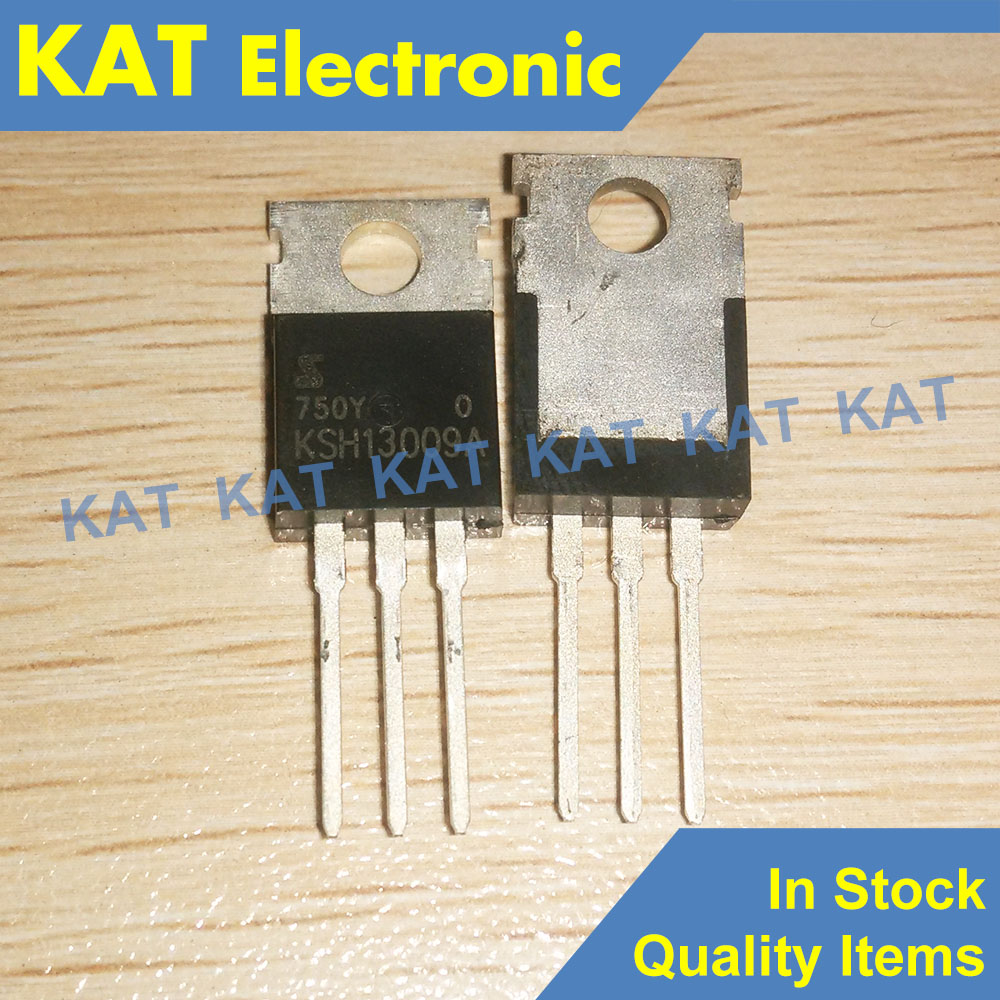 5PCS/Lot KSH13009A KSH13009 TO-220 Switch Mode Series NPN Silicon Power Transistor