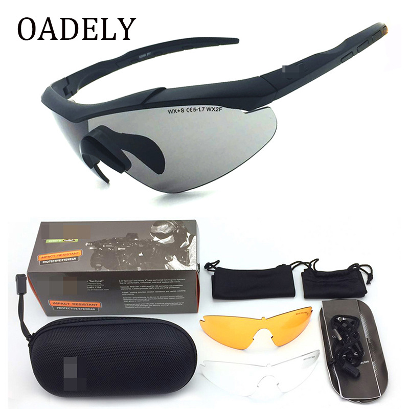 New Style 5.11 Tactical Eye Protection Glasses Bicycle Glass Outdoor Sports Impact Resistance Shooting Explosion-Proof Glasses A