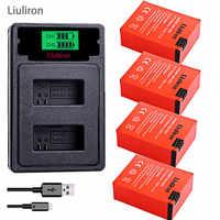Batterie haute capacité bateria hero 3 gopro hero3 + chargeur USB TYPE-C + boîtier de batterie pour GoPro go pro hero 3 3 + accessoires pour appareil photo