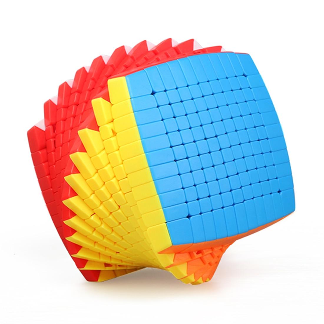 Shengshou 10X10 / 11X11/ 12X12 /13X13 / 14X14 /15X15 Magic Cube Professional Speed Cubes Adults Kids Christmas Gifts 2019