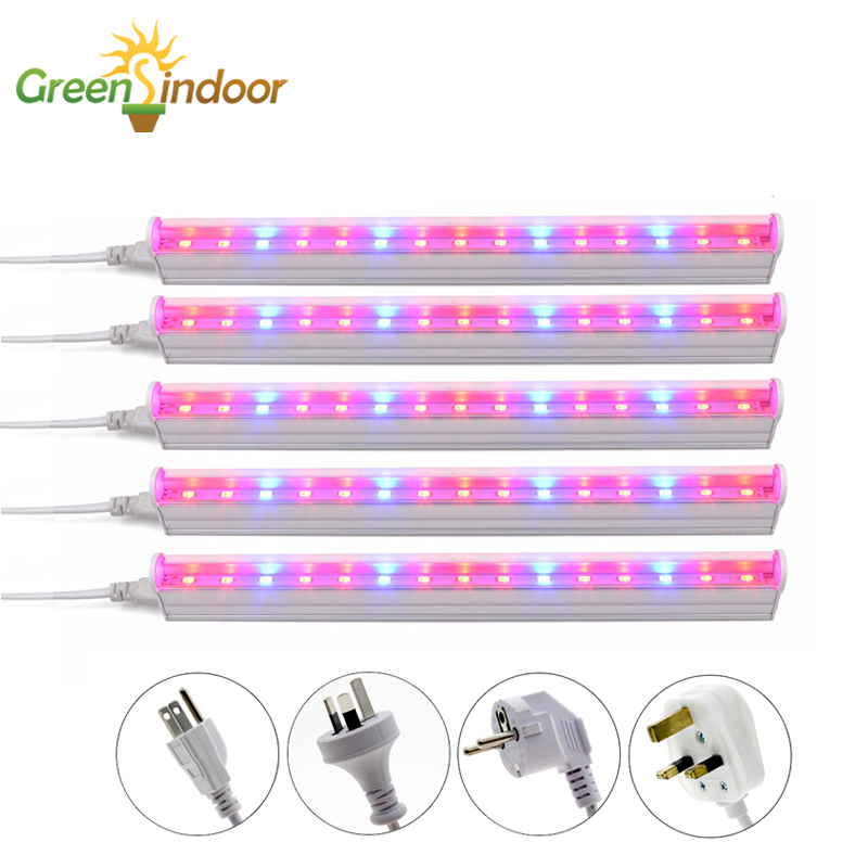 5pcs Grow Light Phyto Lamp Led Lights For Indoor Plants Full Spectrum Indoor Plant Growth Flower Growing Lamp Phytolamp Fitolamp