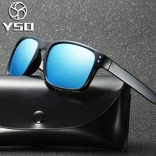 Yso Модные мужские солнцезащитные очки 2020 поляризованные uv400