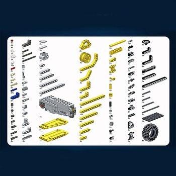 Kit Di Costruzione In Metallo | MoFun-13016 2.4G 4CH USB Di Ricarica Building Block Simulato Miniera Truck 488pcs FAI DA TE Elettrico RC Modello Di Auto Giocattoli Per Bambini