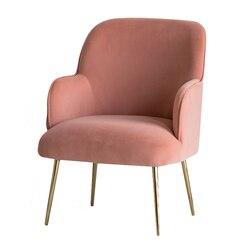 Nordic pojedyncza Sofa Ins leniwy lekki luksusowy Mini balkon stół i krzesła netto czerwony wiatr trzyczęściowy sypialnia mała Sofa krzesło| |   -