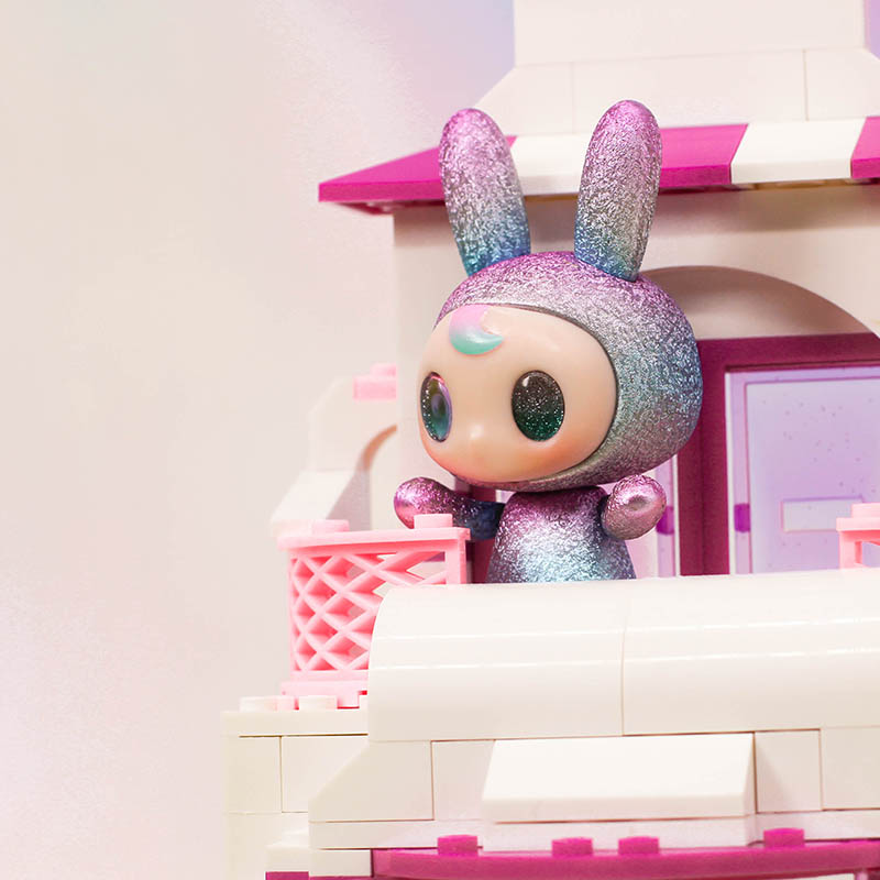 Blind box GOCO cool enough Puwa Pink Rabbit Series lovely girl's favorite toy