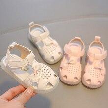 Babaya Girl's Sandals Baby Shoes Soft Bottom Pump Beach
