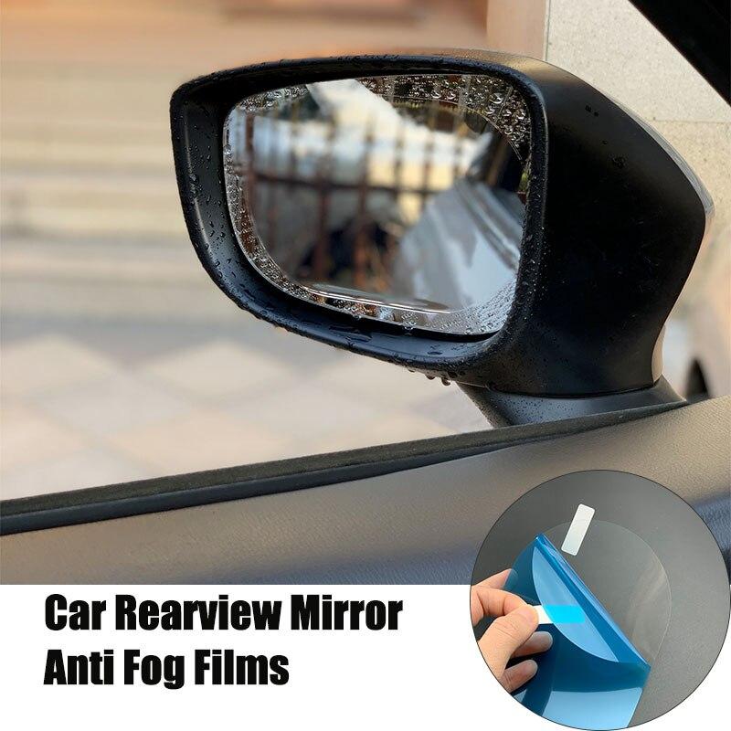 2 قطعة سيارة مرآة الرؤية الخلفية مكافحة المياه فيلم ل Roewe 750 950 350 550 E50 W5 E50/Englon SC3 SC5 SC6 SC7 الباندا