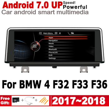 Android car player for BMW 4 F32 F33 F36 2017 2018 EVO original Style Autoradio gps navigation Bluetooth HD screen IPS