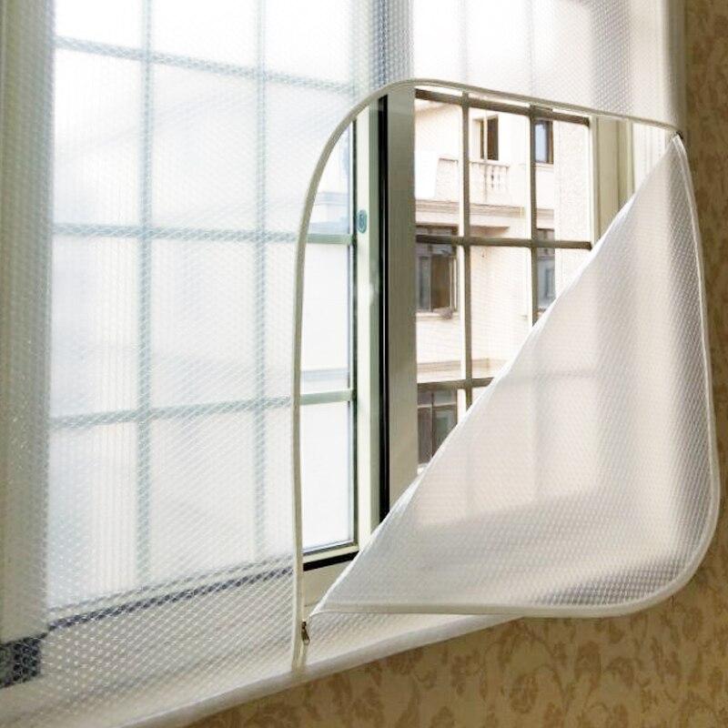 Wind-proof And Heat-insulation Zipper Curtain Of Air-proof Window With Cold-proof And Air-proof Window And Air-proof Window