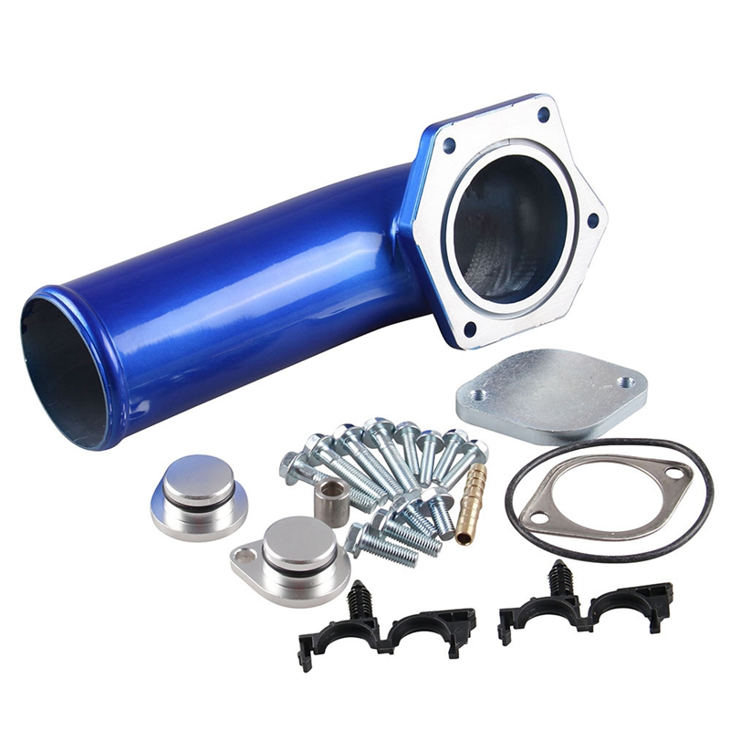 Egr Valve Kit With Intake Elbow For 2008 2009 2010 Ford F250 F350 F450 V8 6.4L Powerstroke- Crude Oil Engine