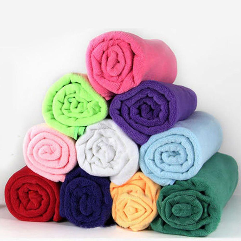 35x75cm Microfibre Outdoor Custom Travel Gym Camping Sports Towel Quick Dry Absorbent Sports Cleaning Face Towels For Men Women