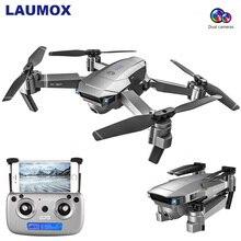 LAUMOX SG907 gps Дрон с 4K регулировкой HD камера широкий угол 5G wifi FPV RC Дрон складной Квадрокоптер Профессиональный Дрон VS E58