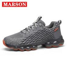 Marson/мужская повседневная обувь на плоской подошве; Модная
