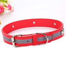 1PC Pet Collars Necklace Collar With Bone Print For Small Medium Dogs Neck Adjustable Safe Puppy Kitten Cats Hot Sale