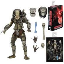 Neca filme original avp aliens vs predador selva caçador predador pvc figura de ação collectible modelo brinquedos
