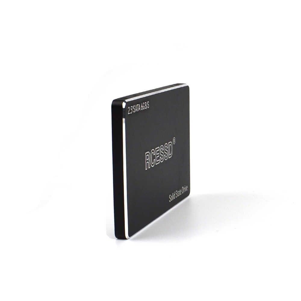 RCESSD מתכת מוצק מדינת כונן 128GB 360GB 2.5 SATA3 SSD 120GB SATAIII 240GB הפנימי SSD מחשב נייד מצב מוצק כונן 480GB 512GB