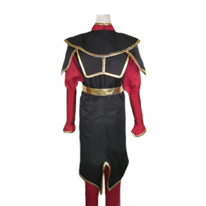 The Legend of Korra Azula Fire Nation Princess Set Cosplay Costume