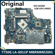 Laptop Motherboard Acer Aspire LA-6911P DDR3 for 7750G P7ye0/La-6911p/Mb.rmm02.001/..