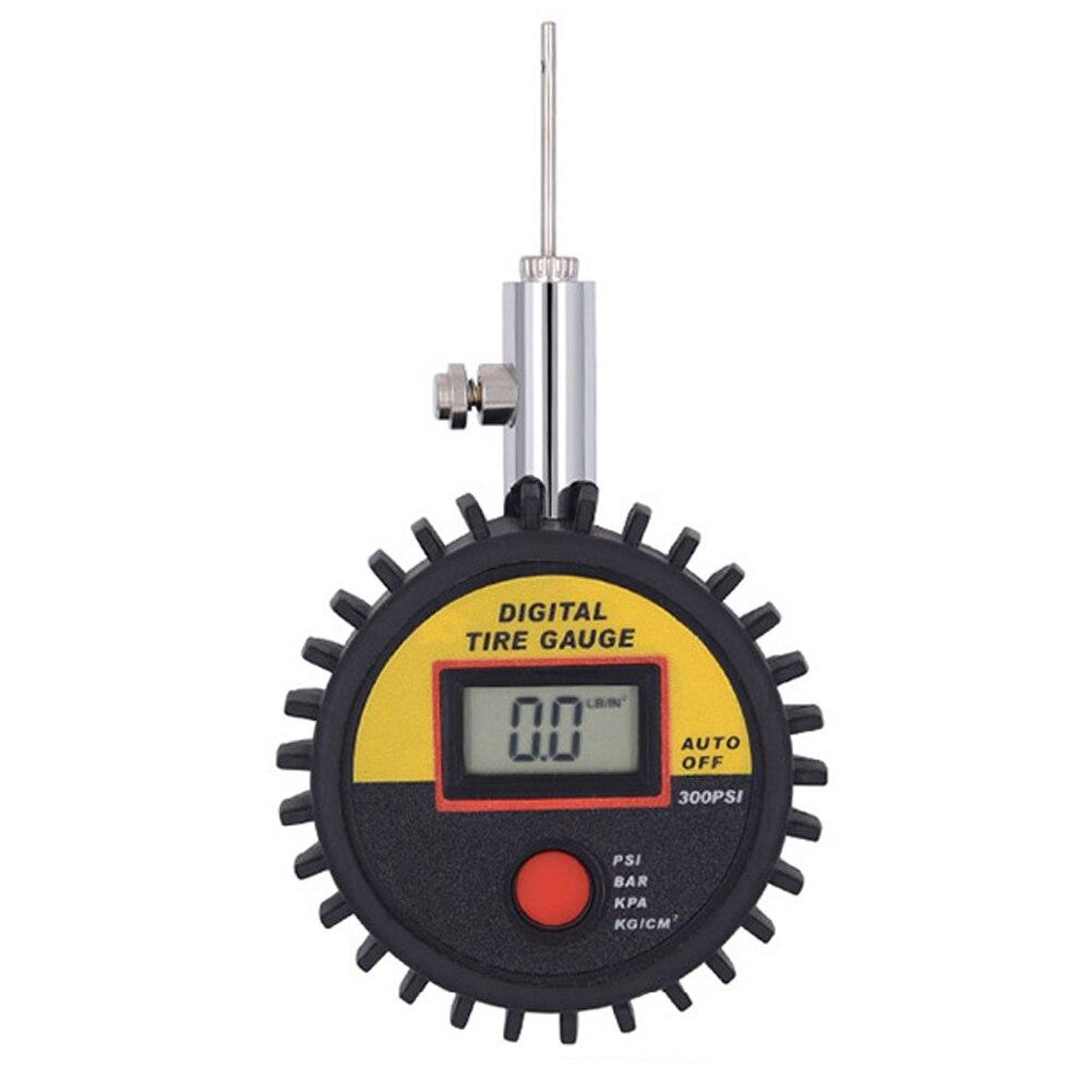 Цифровой дисплей Ручной мини футбол точный мяч барометр измерения баскетбольный индикатор измерителя давления инструмент волейбол