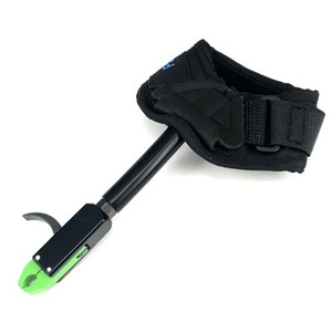 Image 5 - Compound Bow Release of Durable Metal for Strength Saving Hand Protector Archery Accessory