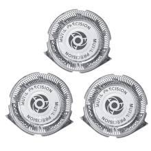 3 шт/компл головки для бритья сменные бритвы мульти точные лезвия