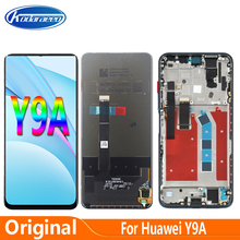 Original 6.63'' For Huawei Y9A FRL-L22 FRL-L23 LCD Display Touch Digitizer Glass Screen With Frame Accessories