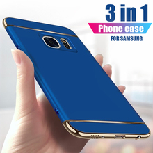 3-in-1 Matte Case For Samsung S