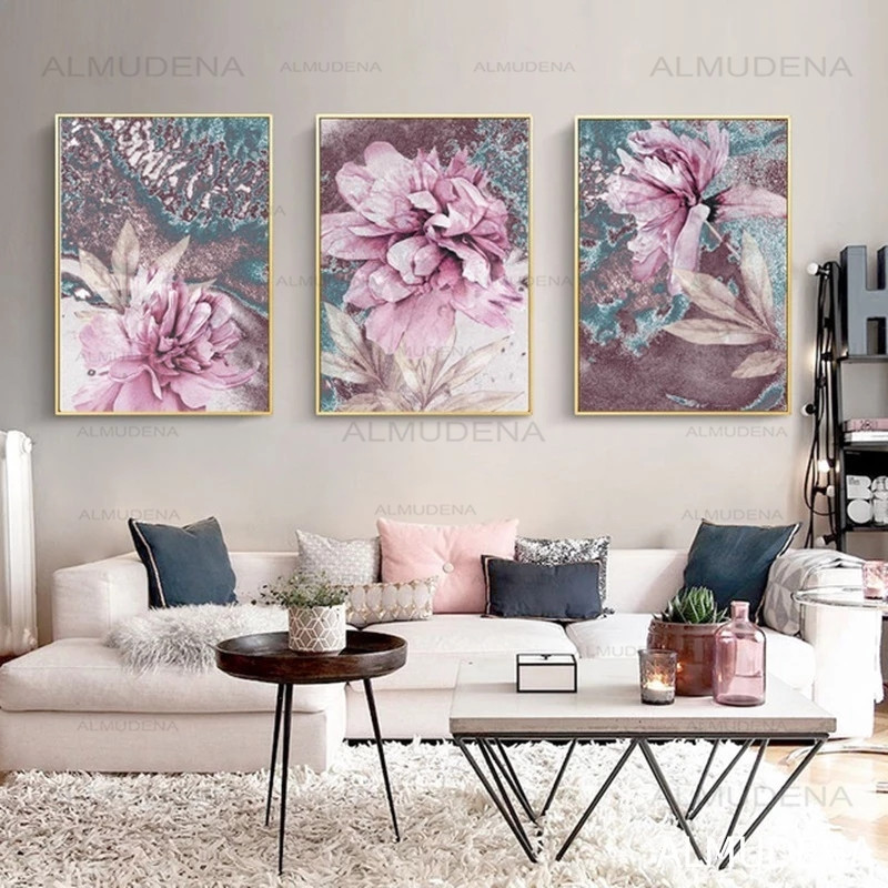 Abstract Painting Scandinavian Poster Nordic Decoration Home Wall Art Flowers Posters And Prints Decorative Pictures Unframed Hot Offer B5d6 Cicig