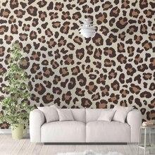 Mural 3d Fashion Wallpaper Decorative-Paintings Custom Leopard Illustration Illustration