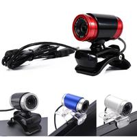 camera computer Newest Webcam USB 12 Megapixel High Definition Camera Web Cam 360 Degree Clip-on For Skype Computer desktop (4)