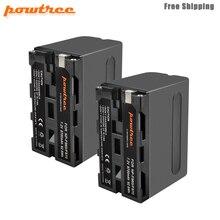 powtree 7.2V 8700mAh NP-F960 NP-F970 Camera Battery For Sony NP F960 F970 NP-F770 F550 CCD-TRV58 TRV110K TRV26E HVR-Z1 V1J L50