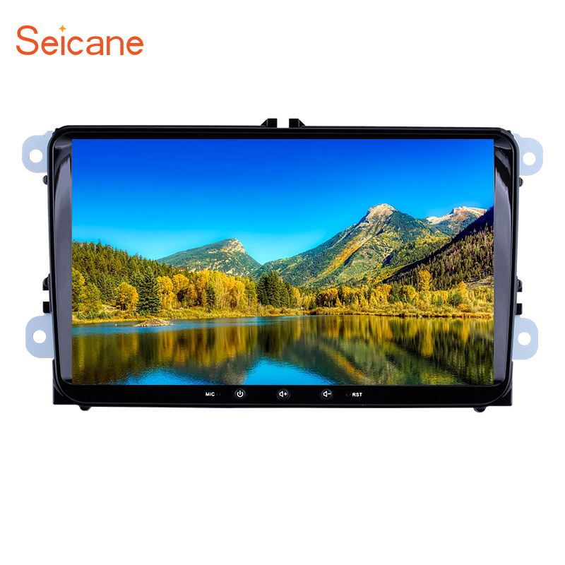 Seicane Android 8.1 9inch Car Multimedia Player <font><b>2</b></font> <font><b>din</b></font> GPS car Radio For Skoda/Seat/Volkswagen/<font><b>VW</b></font>/Passat b7/POLO/<font><b>GOLF</b></font> 5 <font><b>6</b></font> image