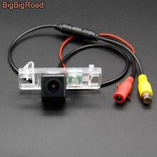 BigBigRoad pojazdu bezprzewodowa kamera cofania kolor HD obrazu dla Peugeot 307 307CC Pathfinder Expert 308 308CC 3008 3008C 408 508