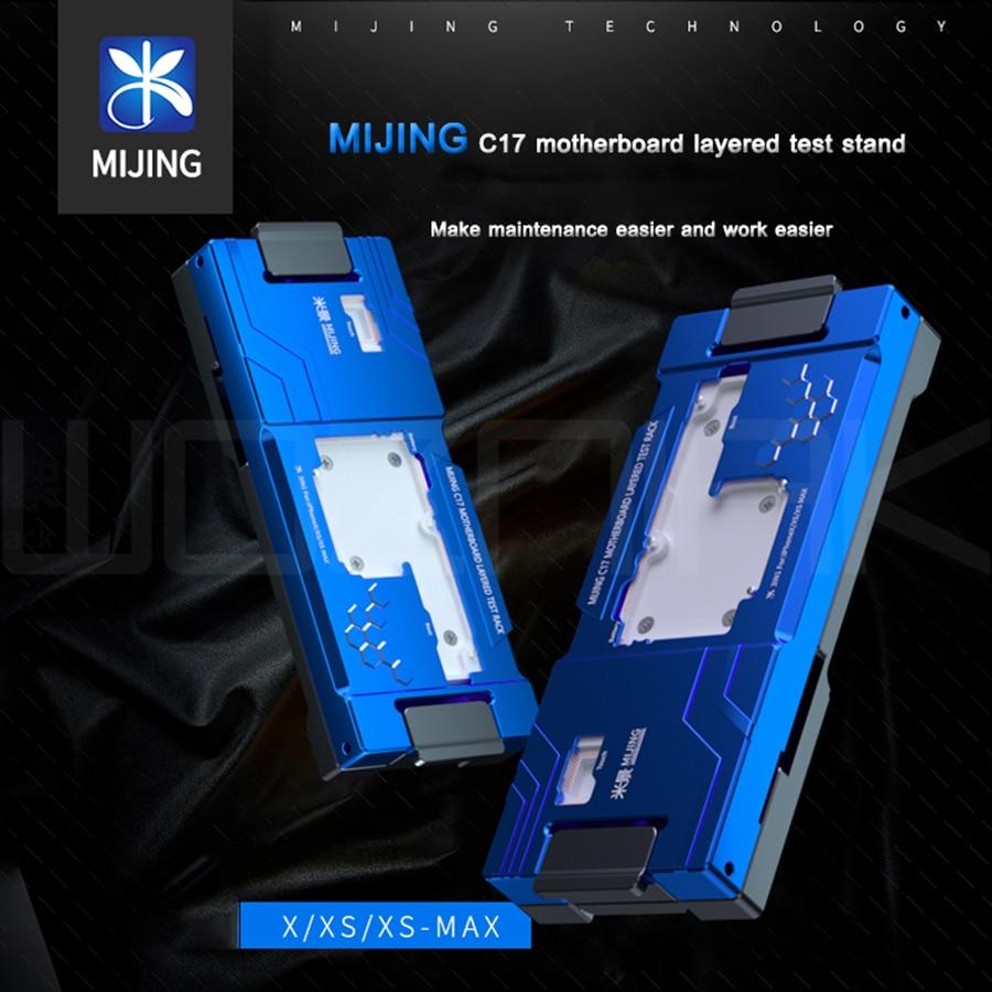 Материнская плата Mijing C17, многослойное тестовое приспособление для iphone x xs max, инструмент для ремонта