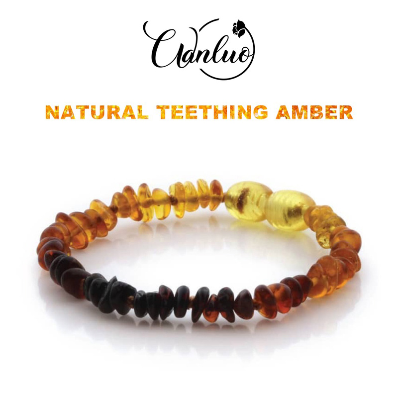 Classic Baby Amber Bracelets Certified Authenticity Genuine Natural Baroque Amber Beads Jewelry Baltic Original Amber for Adult(China)