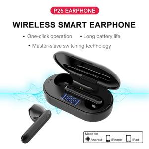Image 5 - Nouveau casque sans fil Bluetooth contrôle tactile casque sans fil sport oreille crochet écouteurs écouteurs écouteurs avec Microphone